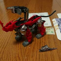 Vintage Tomy Zoids Death Cat Assembled Plastic Model With Box And Sticker