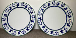Mikasa Fine China Firenze Dinner Plates 10 1/2 Spal Portugal - Set Of 2