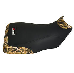 Yamaha 660 Grizzly Black And Camo Non Slip Seat Cover 2002 - 2008