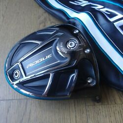 Callaway Rogue Subzero 9.0anddeg Driver Head Only With Head Cover