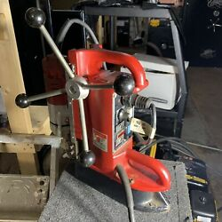 Milwaukee Magnetic Drill Press 4202 Base With Motor Working Heavy Duty Strong