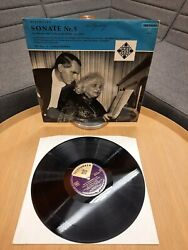 Near Mint + Signed Ludwig Hoelscher Elly Ney Beethoven Sonate Nr. 5 Ble 14 097