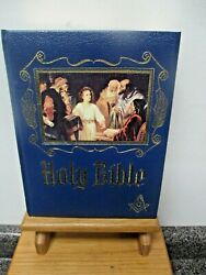 Large 1988 Heirloom Family Bible Masonic Edition With Lots Of Supplements F/s