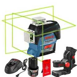 Bosch Gll3-330cg 360º Connected Three-plane Leveling + Alignment-line Laser