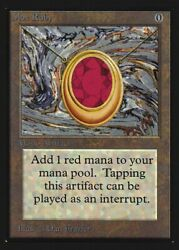Mox Ruby Not Tournament Legal Collectorsand039 Edition Mint Rare Card Abugames