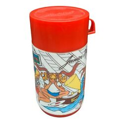 Vintage Junior Miss Insulted Lunchbox Thermos Alladin Ind U.s.a. Made.