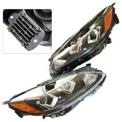 Lh+rh Headlight Front Lamps Halogen For Ford Escapes/se/sel 2020 2021 Sae Dotandnbspus