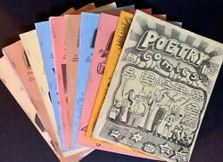Dave Morice / Poetry Comics The First 16 Issues Of The Scarce Original 1st 1980