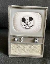 Wdcc Newsreel Opening Title Mickey Mouse Club Television Tv Le 550 Figure Mib