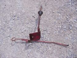 Farmall M Super M Ih Tractor Front Pto Engagement Shifter And Linkage