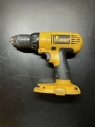 Dewalt Dc970 18v Cordless Drill Driver 1/2 Tool Only No Battery Tested/works