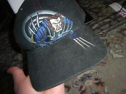 Marvel Wolverine One Size Fits 8 To 18 Boys Hat / Cap Marvel Collectible