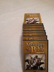 Mysteries Of The Bible Dvd Lot 7 Collection Aande 2007 Free Shipping