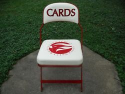 Official Wheeling Jesuit Cardinals Locker Room Chairs Game Used Stadium Use