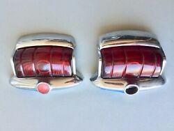 1948 Plymouth Tail Lights Original Take Off Part