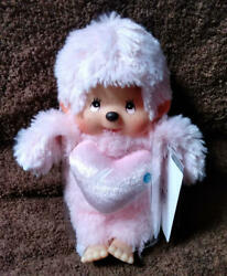 Love Monchhichi Pink Cute From Japan