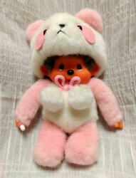 Monchhichi Panda Pink Grande Exclusive From Japanex Condition