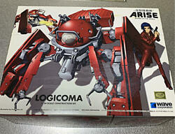 Ghost In The Shell Arise Logicoma 1/24 Scale Plastic Model Wave From Japan
