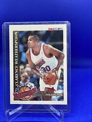 1992 Hoops Magicand039s All-rookies 8 Clarence Weatherspoon Rookie Card Rare Mint