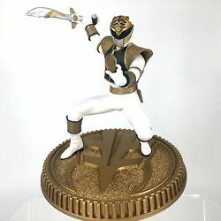 Mighty Morphin Power Rangers White Ranger Collectible Figure By Pcs Collectibles