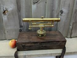 Rare Antique Georgian Theodolite By Cary London William Cary 1759 -1825