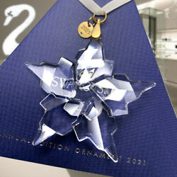 Annual Edition Ornament 2021 Crystal 5557796 5583847 Snowflake Gift