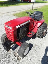 Wheel Horse Garden Tractor16 Hp Kohler 3 Point Hitch And Plow Works Great.