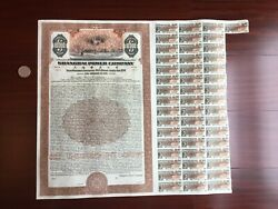 1934, Chinese Shanghai Power Company 10,000-5000-1000 Silver Coins Bonds
