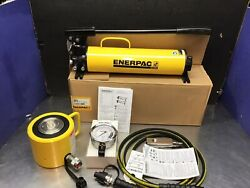 Enerpac Rcs1002 Scl1002h Hydraulic Cylinder 100 Ton 10000 2andrdquo Stroke P80 Set New
