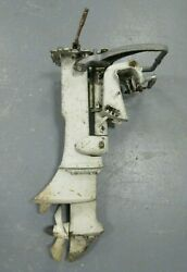 Old Vintage Johnson Motors Outboard Model Cd-21a Parts Or Repair 1964
