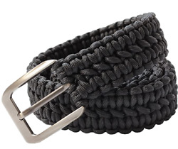 Hlhrainbow Edc 550 Paracord Belts With Metal Buckles For Men