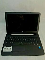 HP 15 ac121dx Laptop For Parts Does not Power ON Broken Power Button NO HDD JR $52.00