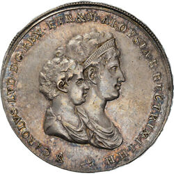 [970852] Coin Italian States Tuscany Charles Louis 5 Lire 1803 Florence