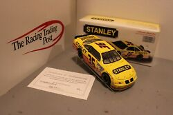 1997 Todd Bodine Stanley 1/24 Action Nascar Diecast Autographed
