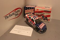 2003 Todd Bodine National Guard 1/24 Action Nascar Diecast Autographed