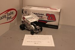 2014 Kerry Madsen American Racing Wheels 1/24 Action Sprint Diecast Autographed
