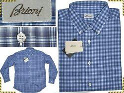 Brioni Shirt Man Size L Or 3xl Hand Made In Italy Discount Write Us Bn01 D-1