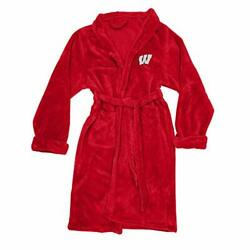 Northwest Co Wisconsin Badgers Sild Touch Robe L/xl