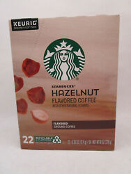 Starbucks Hazelnut Flavored K-cup Coffee Pods For Keurig Pack Of 22 - Exp02/2022