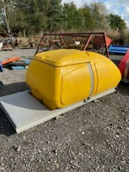1000itre Plastic Fuel Water Tank Bowser Site Farm Tractor Chemical Diesel Tank