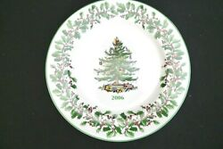 Vintage Spode Porcelain Christmas Tree Pattern Annual Collector Plate 2006 W Box