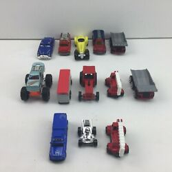 Cars Trucks Dump Truck Tractor Police Fire Engine Monster Truck Bus Kids Toy Lot