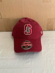Stanford Cardinal Ncaa Zephyr Red One Size Adjustable Hat Cap