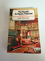 The Kovels Antiques Price List By Ralph And Terry Kovel 1981-1982