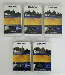 Lot Of 5 - Trilink 10 Chainsaw Saw Chain 2-pack 10 Chains Total