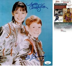 Billy Mumy And Angela Cartwright Signed 8x10 Photo Lost In Space Jsa Coa