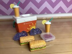 American Girl Beach Cooler Ice chest tailgating Sub sandwich food drink $18.00