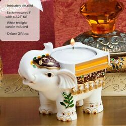 8-72 Good Luck Elephant Candle Holders - Wedding Party Favors