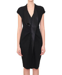 BNWT GIVENCHY WOMEN#x27;S DRESS WITH SATIN FRILLS SIZE UK10 100% AUTHENTIC GBP 469.00
