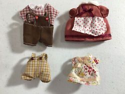 Calico critters sylvanian families Clothes For The Whole Family $10.00